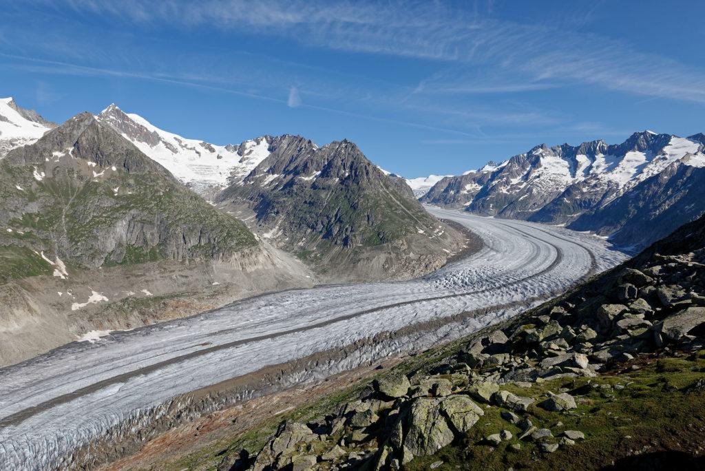 Langue du glacier d'Aletsch