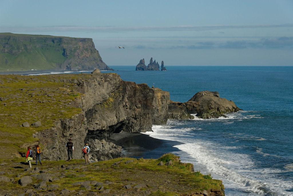 Randonnée sur la côte sud de l'Islande