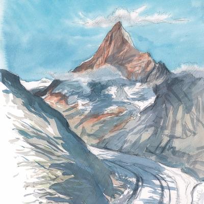 Finsteraarhorn, un des plus hauts sommets de Suisse