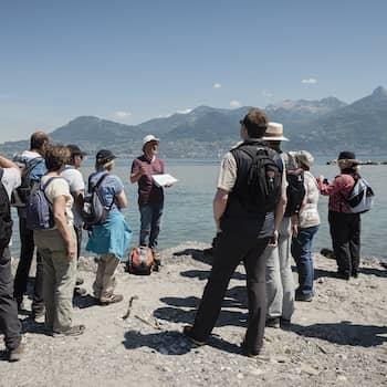 Excursion géologique et formation de guide