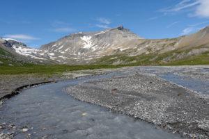 Plaine alluviale d'altitude
