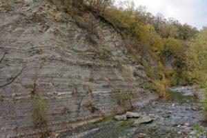 Les roches des gorges de la Breggia