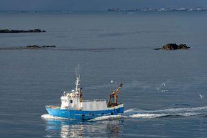 Bateau de pêche, Islande