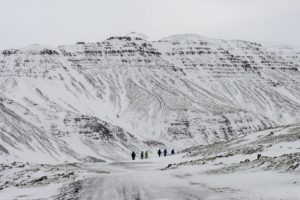 Randonnée en Islande l'hiver