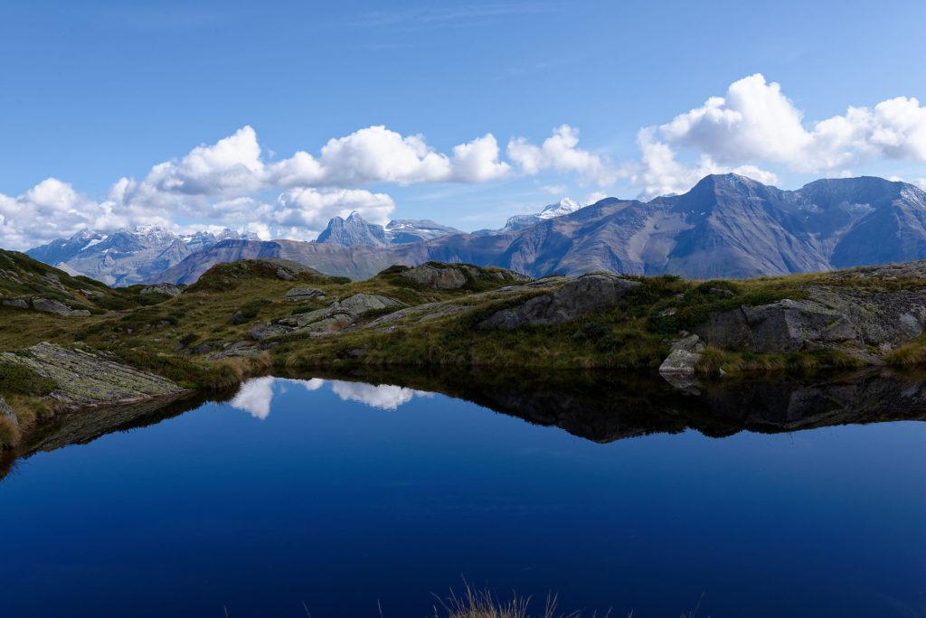 Petit lac près de Moosfluh