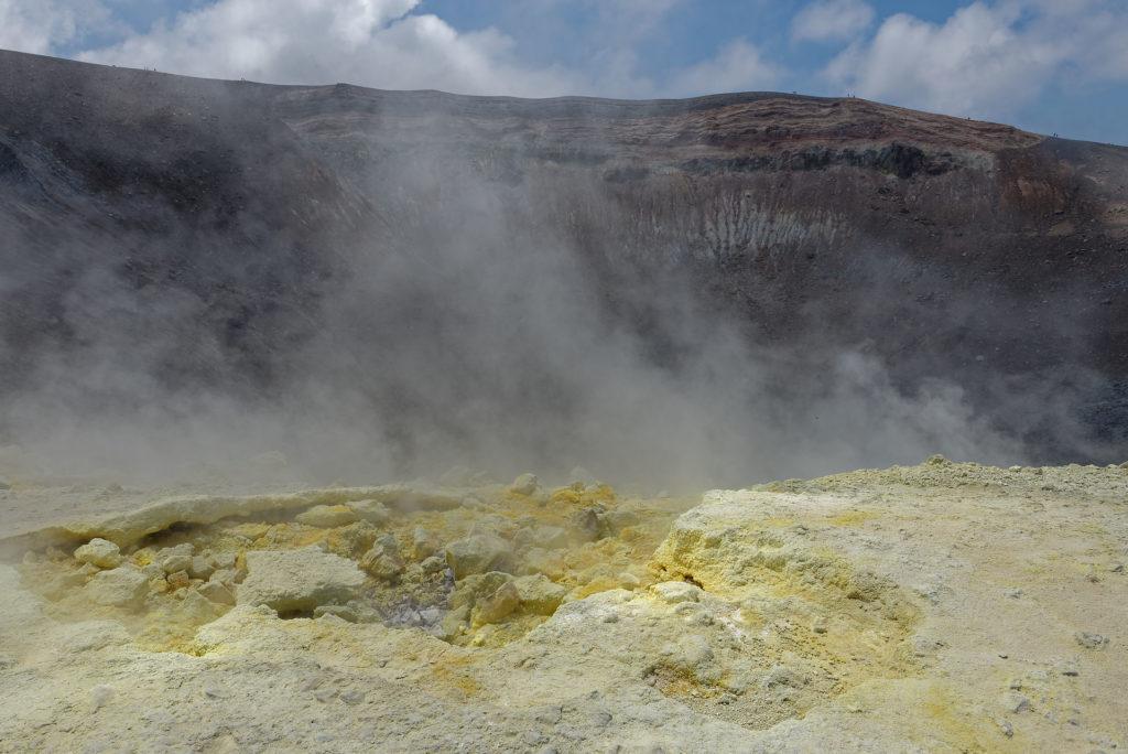 Bordures du cratère de Vulcano