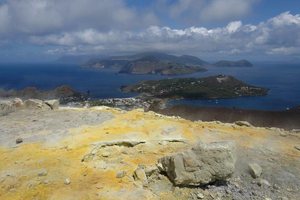 Vulcano et les Iles Eoliennes