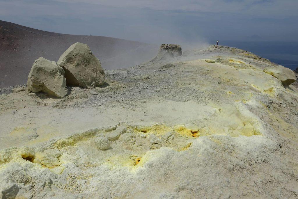 Lèvre du cratère de Vulcano