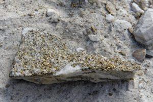 Minéraux de pyrite à Lengenbach