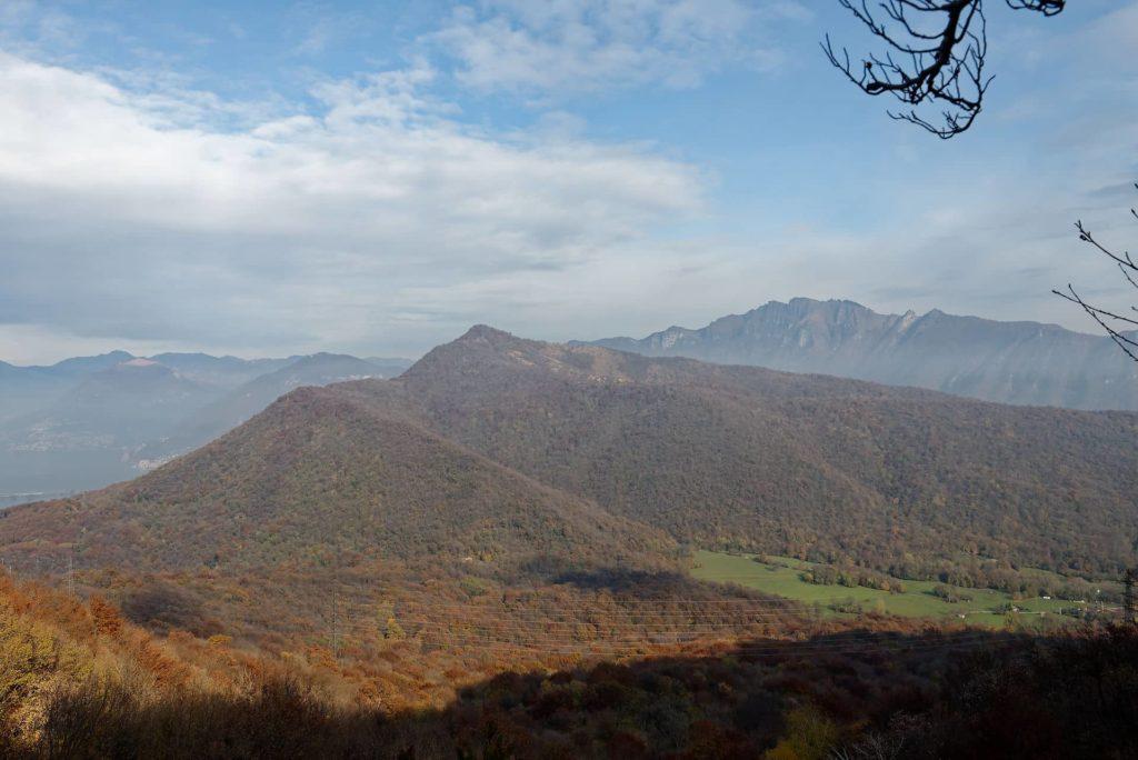 Monte San Giordio vu de Poncione di Arzo