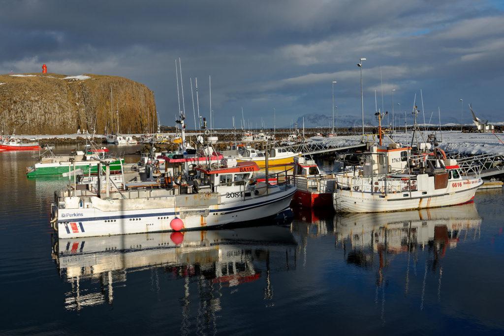 Petit port islandais