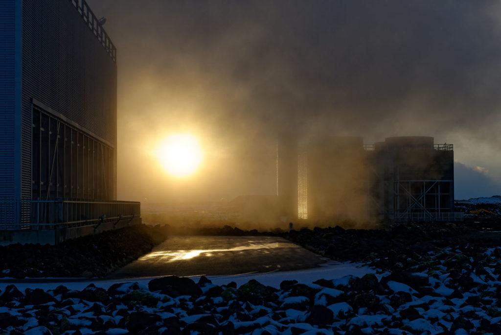 Ambiance géothermique en Islande