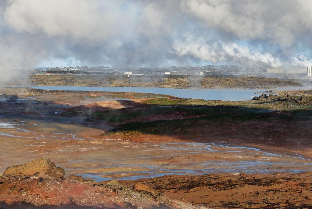 Péninsule de Reykjanes et ses usines géothermiques