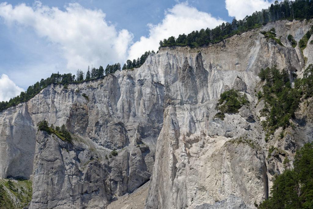 Grand Canyon suisse, ruinalta