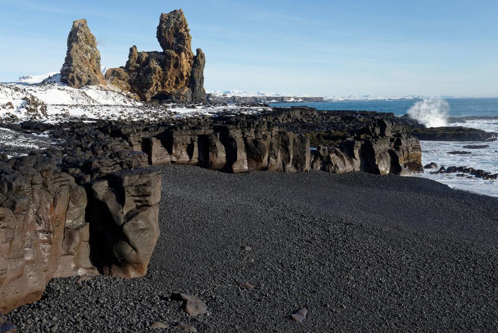 Plage noire en Islande