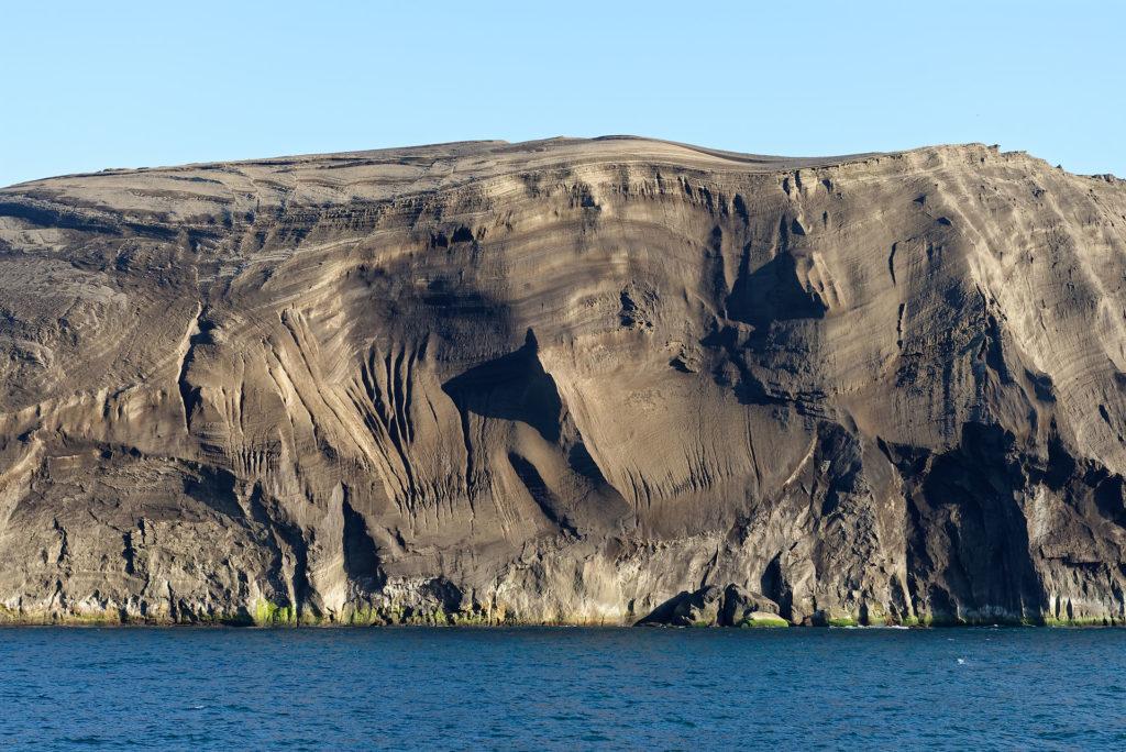 Côte nord de Surtsey avec tuf palagonitique