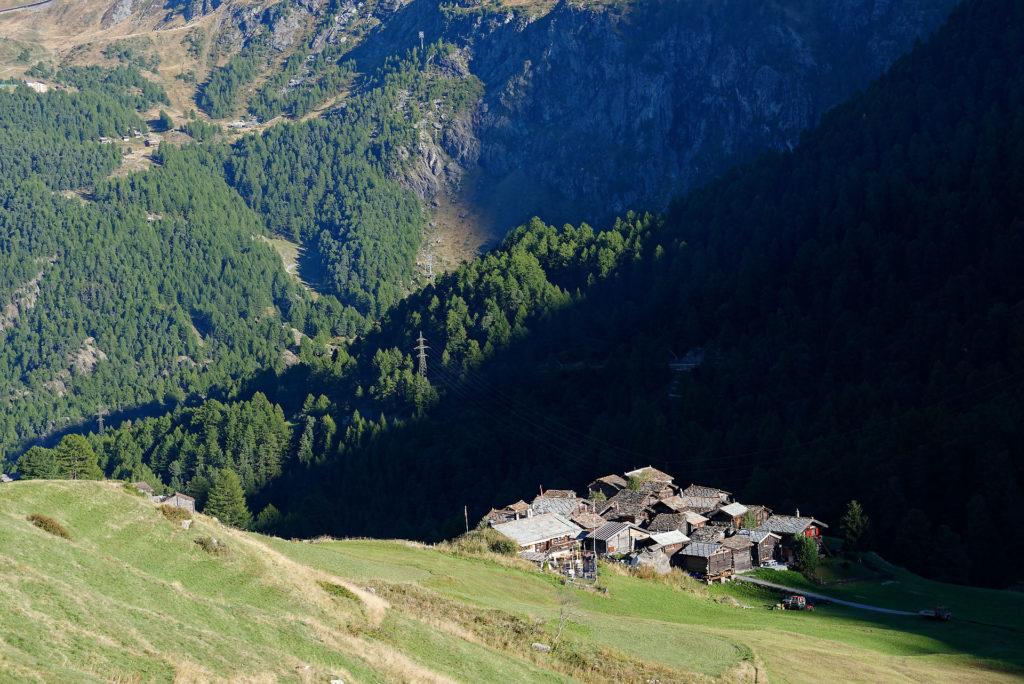 Village de Zmutt