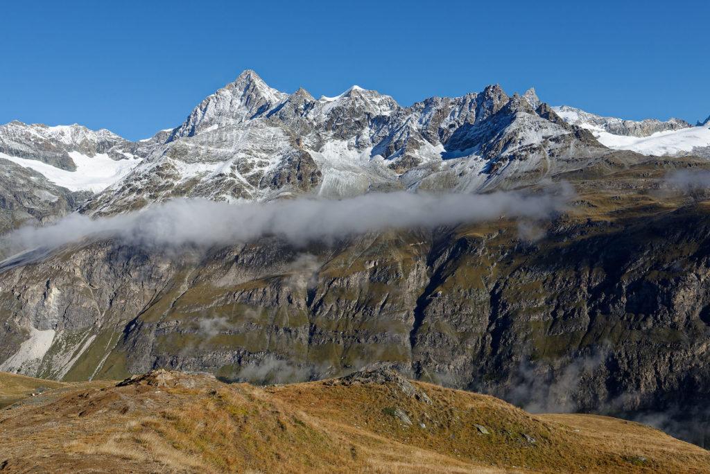 Montagnes dans la région de Zermatt