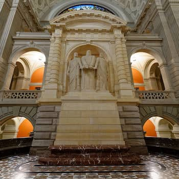 Grand Hall du palais federal