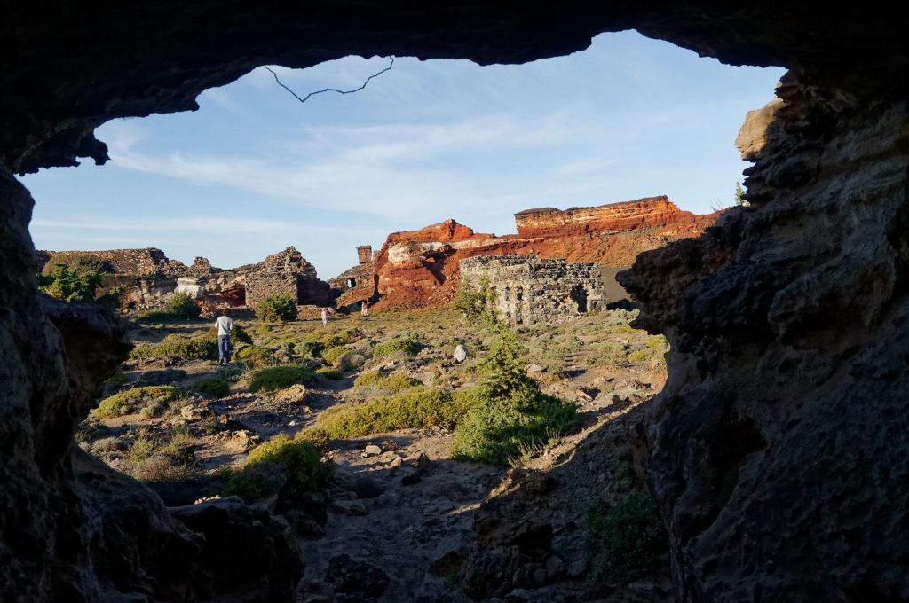 Galerie d'une ancienne mine de manganèse