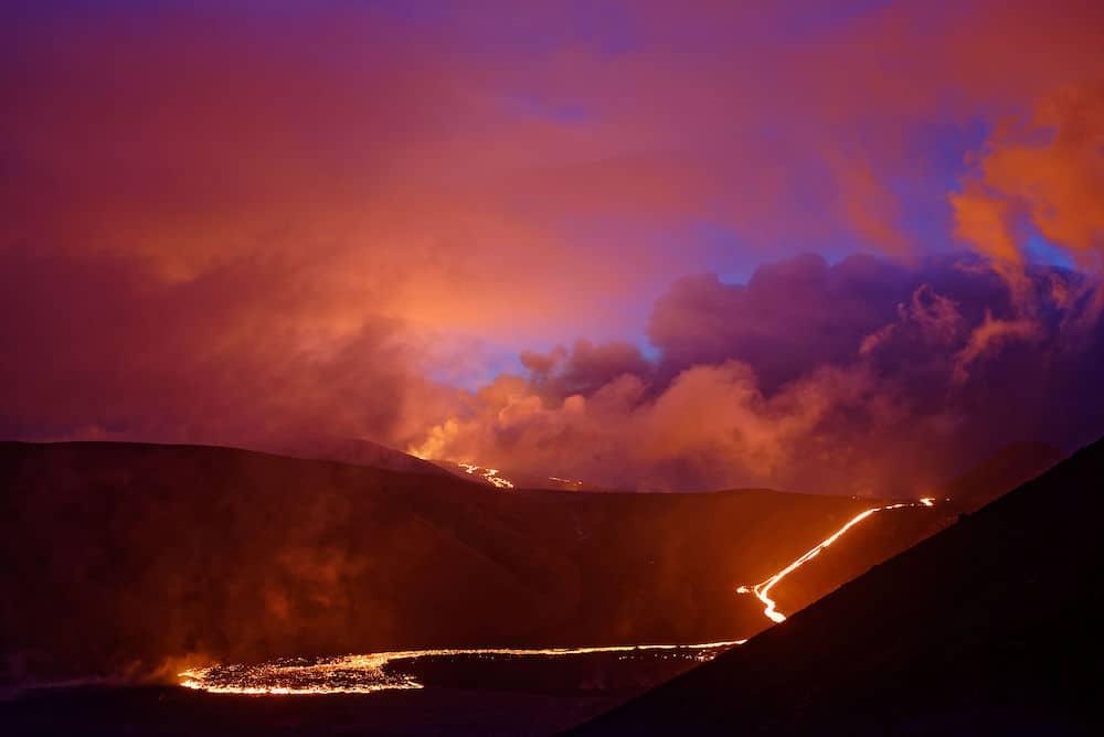 Eruption du volcan Fagradalsfjall